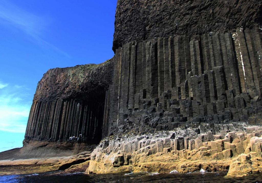 Fingal's cave.