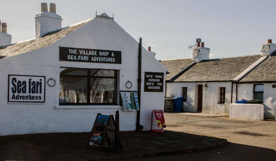 Seafari Adventures - Village Shop