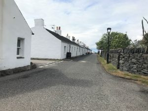 Front Street, Ellenabeich.